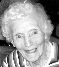MARY BRENNAN CAMPBELLSeptember 28, 1911 – August 27, 2012100 Years Old