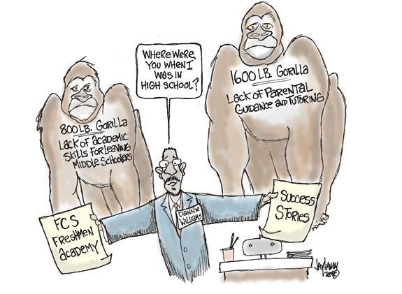 Editorial Cartoon: Fair to Middling
