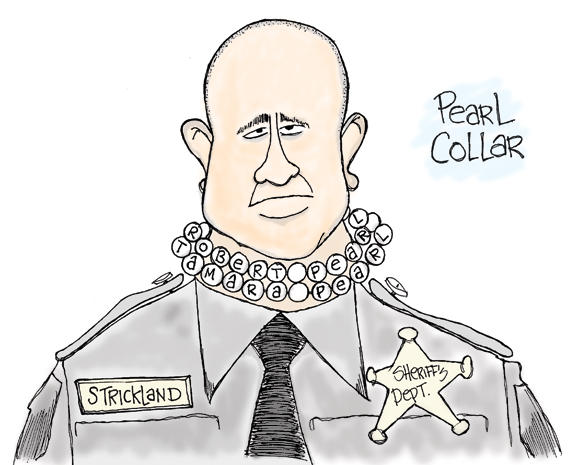 Editorial Cartoon: Sharp Dressed Man