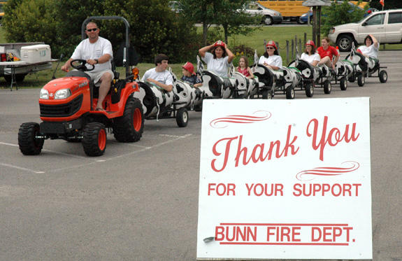 Bunn Fire Department celebrates half century