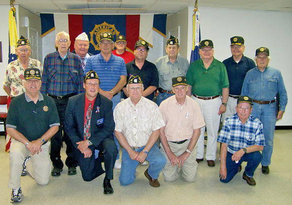 Franklinton American Legion Post 52 installs 2009-2010 officers