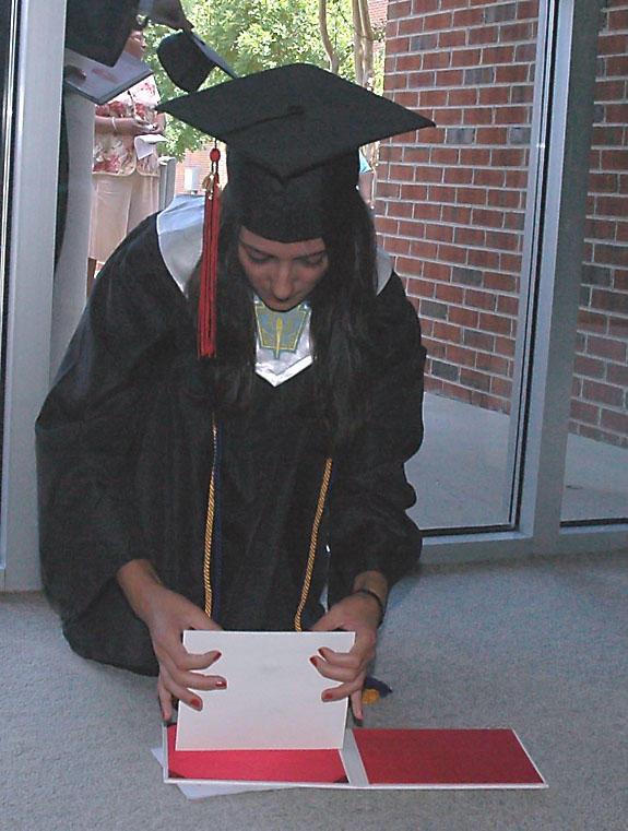 Preparing diploma