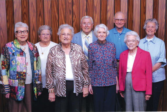Mills High School Class of '43 reunion