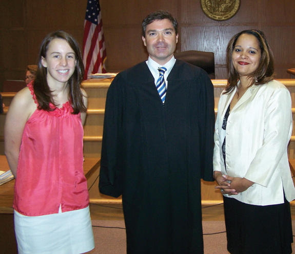 Guardian ad Litem volunteers sworn in