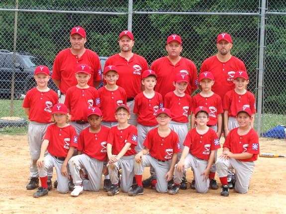 YOUNGSVILLE AMERICANS COACH-PITCH ALL-STARS