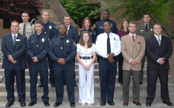 87th Basic Law Enforcement Training class graduates