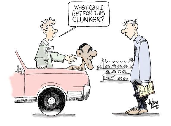 Editorial Cartoon: You may think I'm foolsih