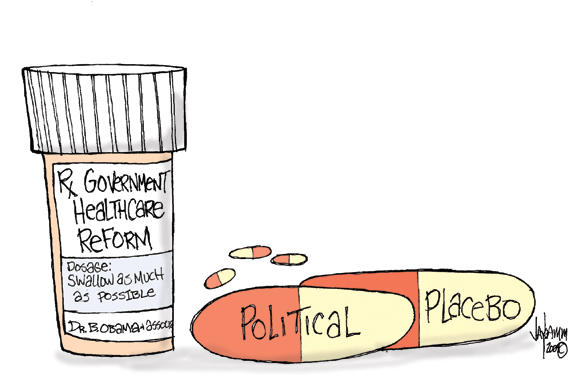 Editorial Cartoon: The Morning After Nov. 4th Pill