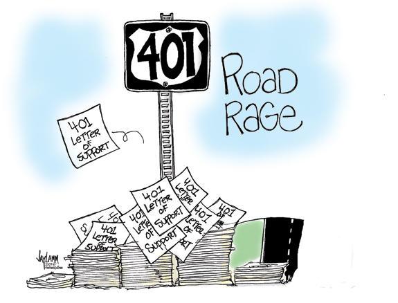 Editorial Cartoon: Climbing Gear