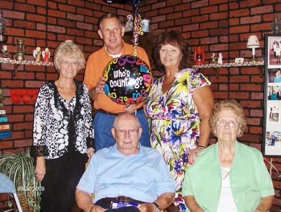 Williams celebrates ninetieth birthday