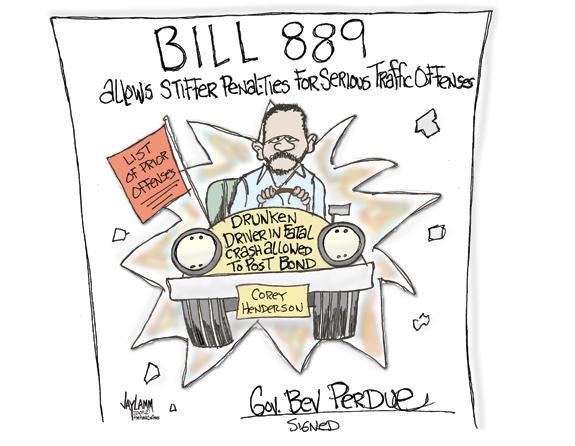 Editorial Cartoon: Bill Me Later