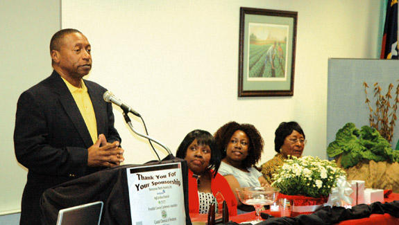 Jones honored for 30 years of service