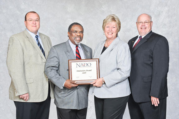 Kerr-Tar Regional Council of Governments receives award