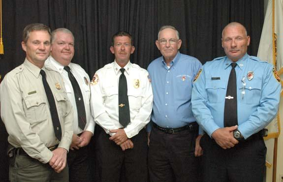 County firefighters elect officers