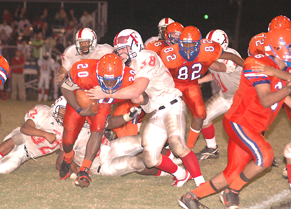 Louisburg Holds Off Rams