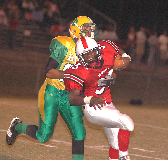 Bunn Rallies Past Red Rams