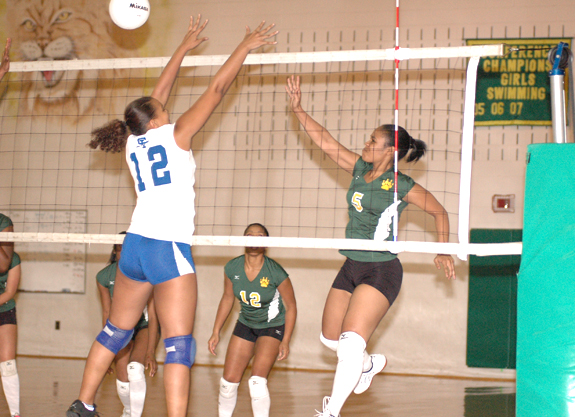Bunn spikers sting St. Paul's in playoffs