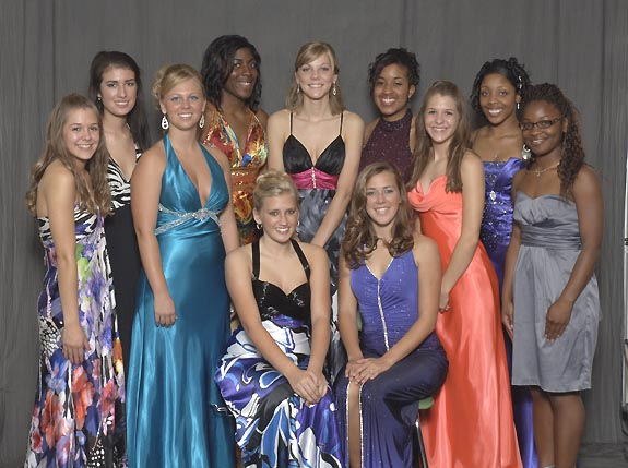 BUNN HIGH SCHOOL 2009 HOMECOMING COURT