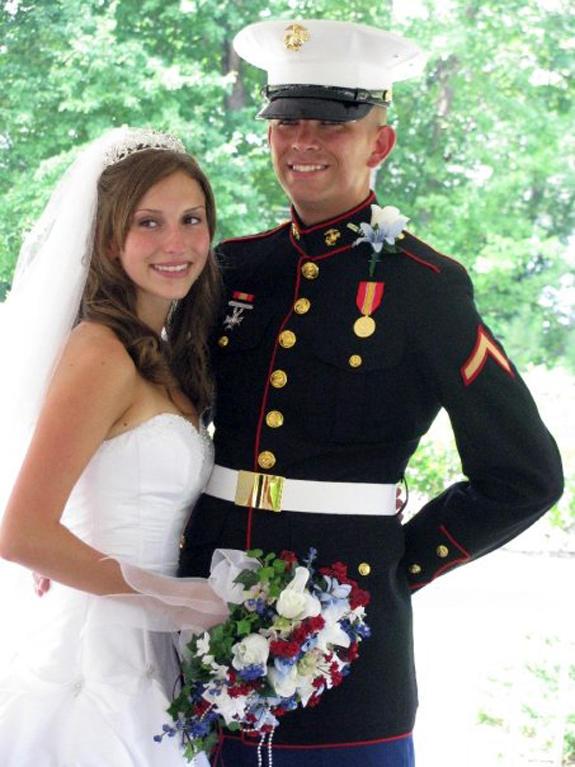 Muller and Morgan wed