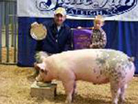 Youngster Travis Cox  is Grand Champion