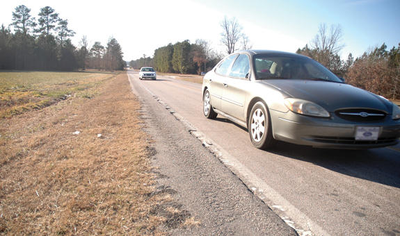 County receives funds for routine road maintenance and repairs