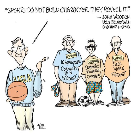 Editorial Cartoon: Gym Rats