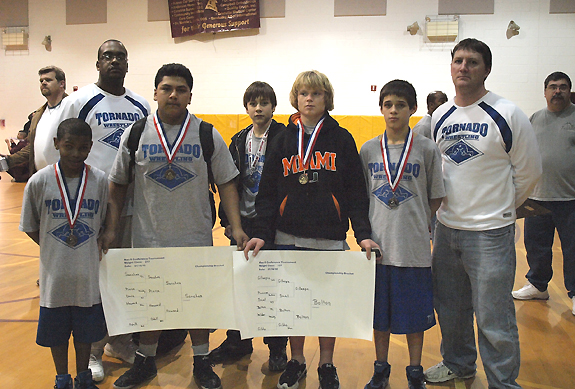 TLMS claims mat medals