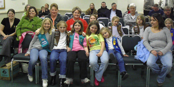 Franklin County Board of Commissioners declare Girl Scout Week March 17-13