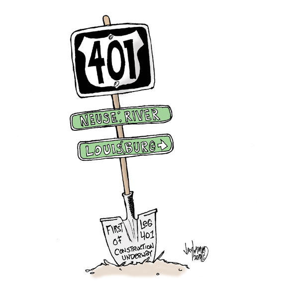 Editorial Cartoon: Campaign Sign