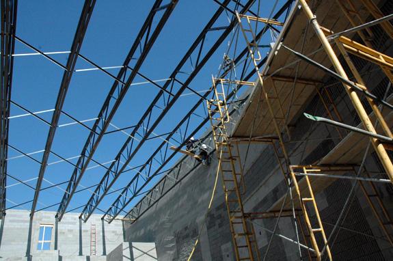New Franklinton High taking shape
