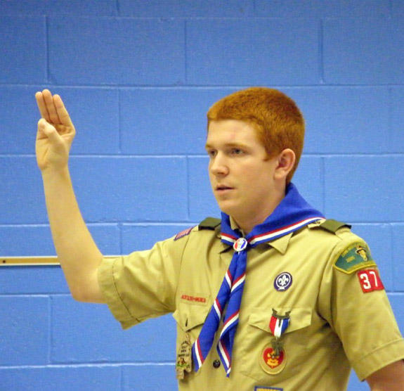 Johnson achieves rank of Eagle Scout