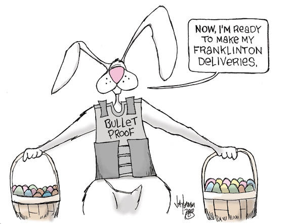 Editorial Cartoon: FrankenVest