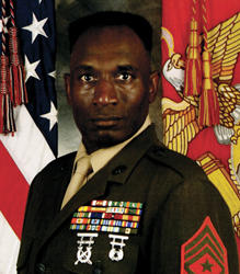 Sgt. Major Joe Louis Vines retires from U.S. Marine Corps