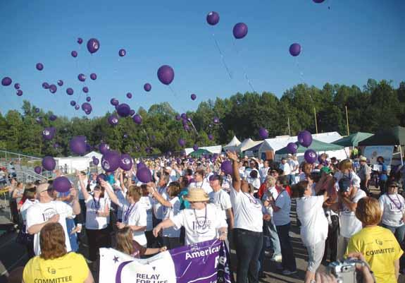 A successful Relay for Life
