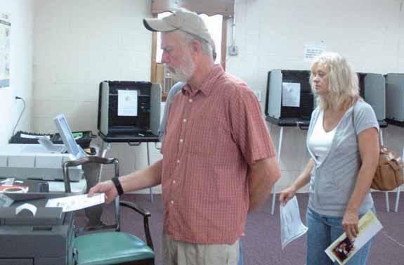 Civic duty brings voters out for primary