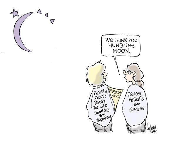 Editorial Cartoon: Moonglow