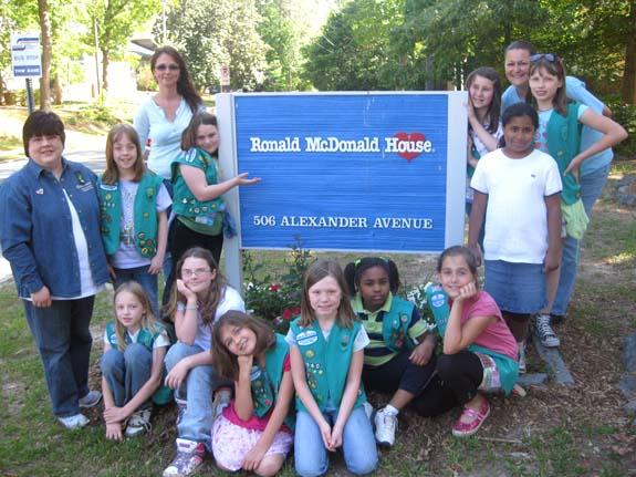 Girl Scout Troop 3060 earns Girl Scout Bronze Award