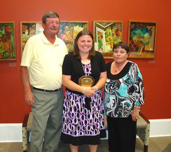 Weaver Wins POY Award
