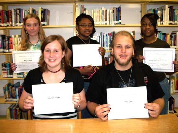 Franklinton High School poetry contest winners