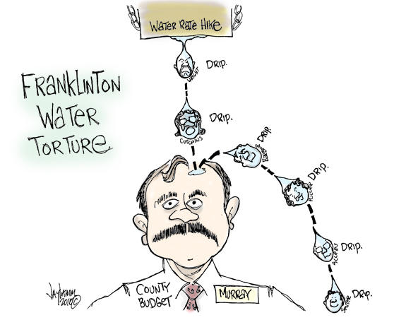 Editorial Cartoon: All Wet