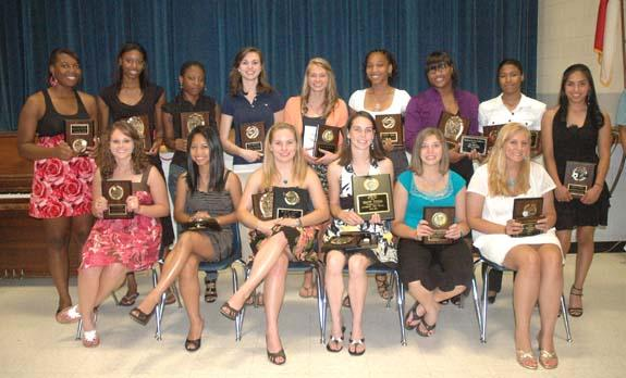 GIRLS HONOREES