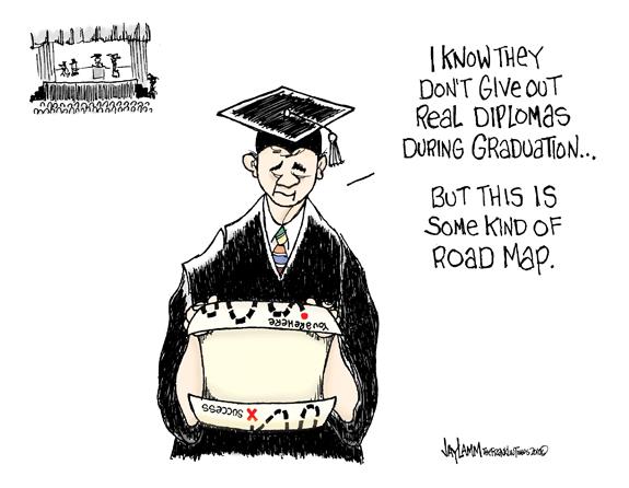 Editorial Cartoon: Cap and Grown