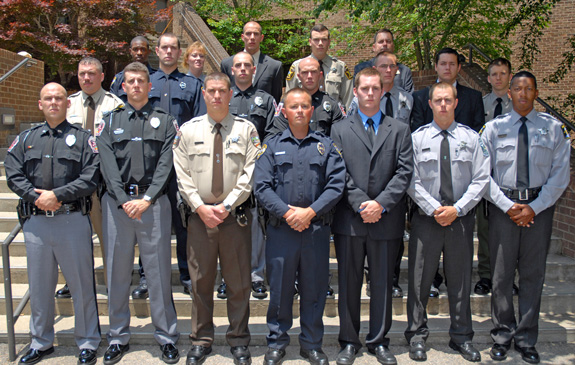 Basic Law Enforcement class graduates