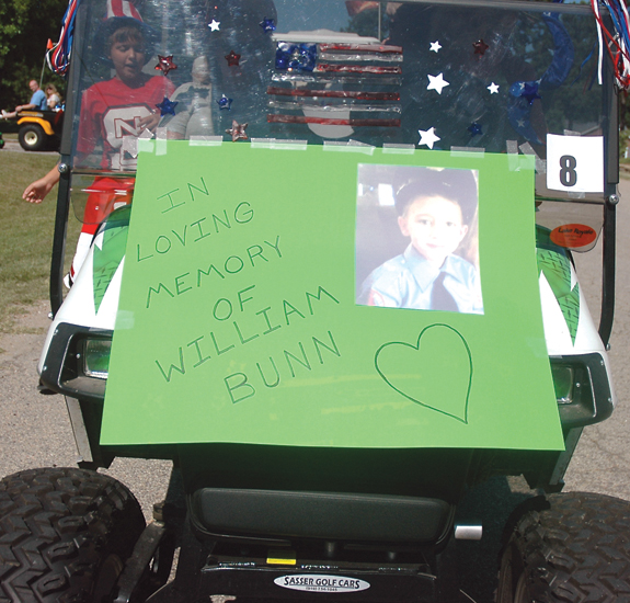 Lake Royale Parade dedicated to memory of William Bunn