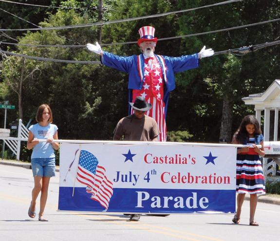 Castalia fireworks fizzle