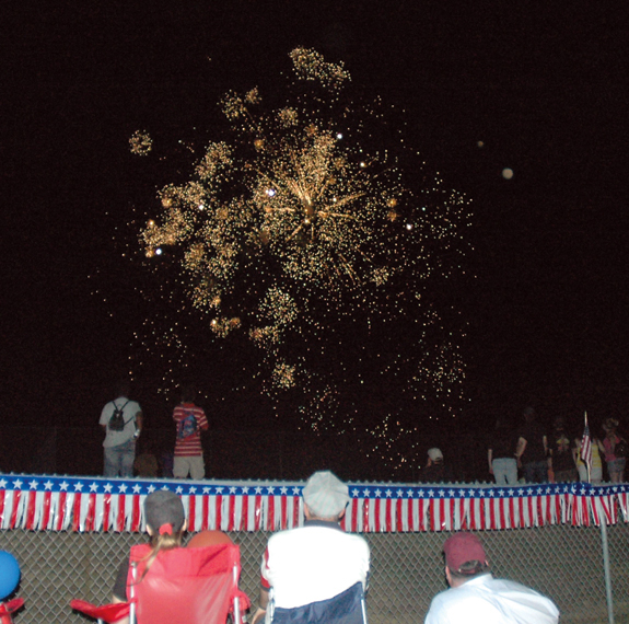 Lake Royale and Franklinton celebrate the Fourth of July