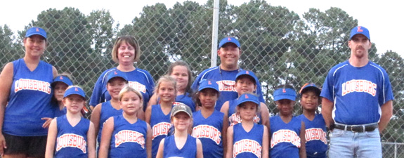 LOUISBURG 8-UNDER ALL-STARS