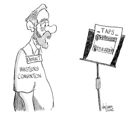 Editorial Cartoon: Last Breath