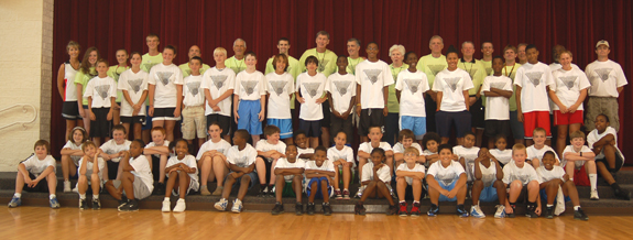 A TREMENDOUS WEEK AT THE CAMP