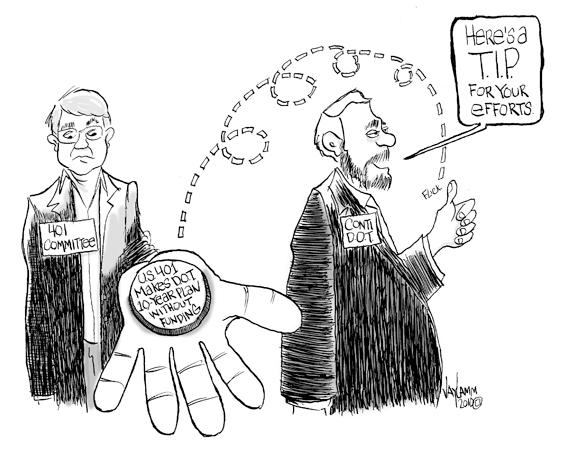 Editorial Cartoon: Plugged Nickel